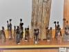 Diverse Mozambiq Figuren Sandelholz DD