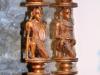 Masai Kerzenständer Paar H = 50 B = 11 cms € 670,- DD